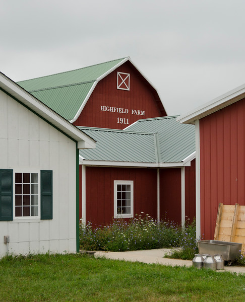 A visit to Highfield Farm, and artisan creamery just down Stateline Road.