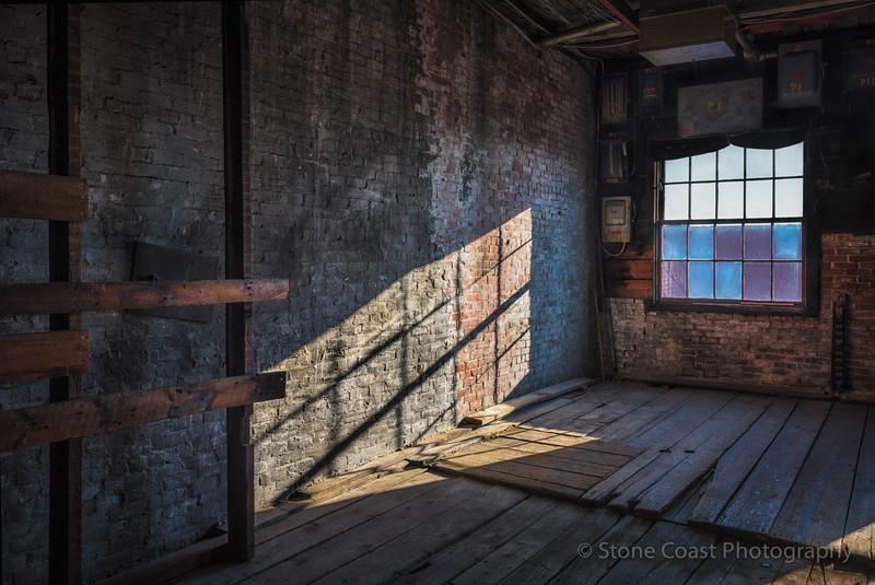 Shadowed Corner at The Portland Company