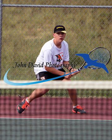 2017 EHS Tennis v Mountain Range