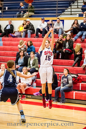 Basketball GSHS vs SalemH 1-21-2014