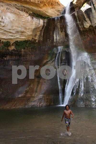 "Escalante, ""Calf Creek Falls"" , 1010"