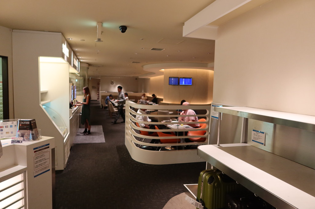 KIX Airport Lounge interior