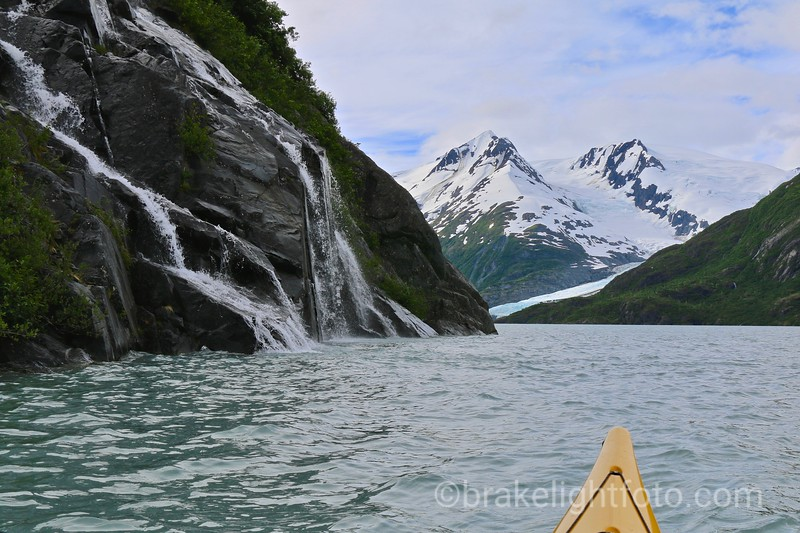 Waterfalls on Portage Lake