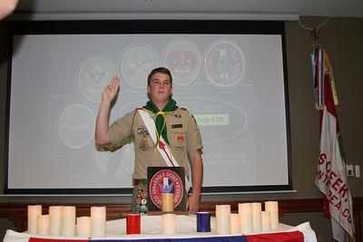 Walker Eagle Ceremony