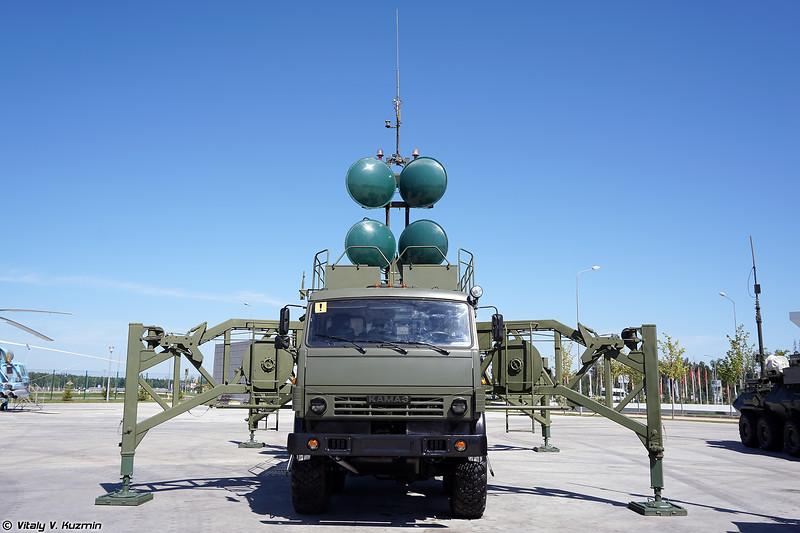 Антенный модуль Р-431АМ комплекса аппаратных связи и аппаратных управления связью Редут-2УС (R-431AM antenna module of Redut-2US signal and communications system)