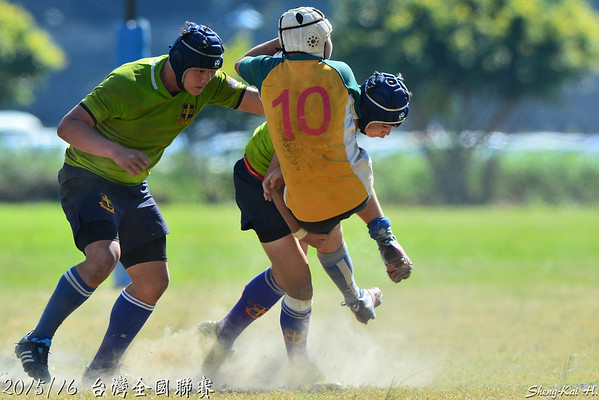 2015/16台灣全國橄欖球聯賽-國中組(Taiwan Rugby National League-Junior High School Group)