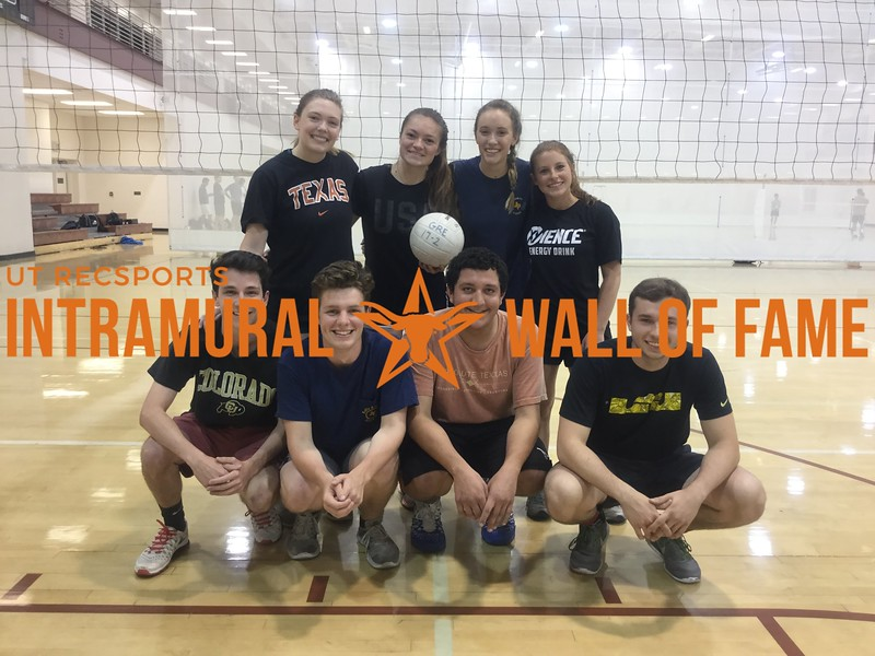 Spring 2018 Volleyball Coed C Champion Absolute Texxas
