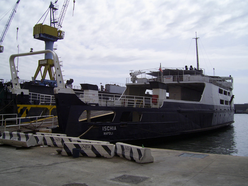 F/B ISCHIA laid up in Napoli, waiting last trip to Aliaga (Turkey) for scrap.