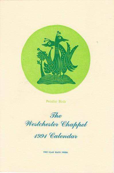 Cover,  1991, Glad Hand Press