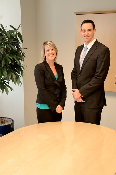 Hodel Briggs Winter LLP - Fred and Beth Portraits