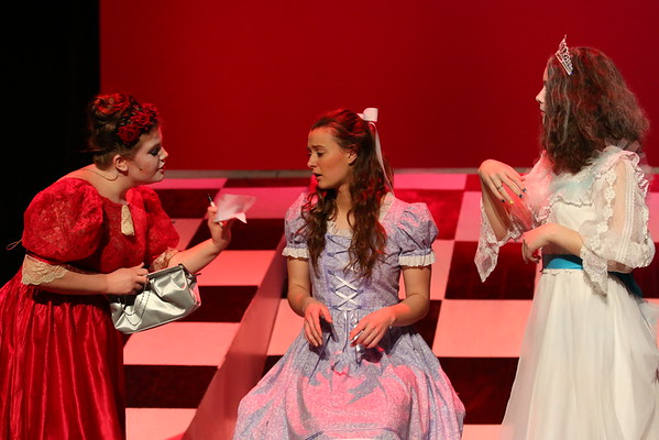 Alice Through the Looking Glass - KCHS Play - 3/3/16