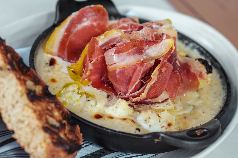 Wood Oven Baked Eggs