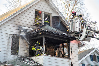 Nichols St. 2nd Alarm (Seymour, CT) 4/12/20