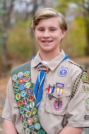 Andrew and Jack Koubek - Eagle Scouts