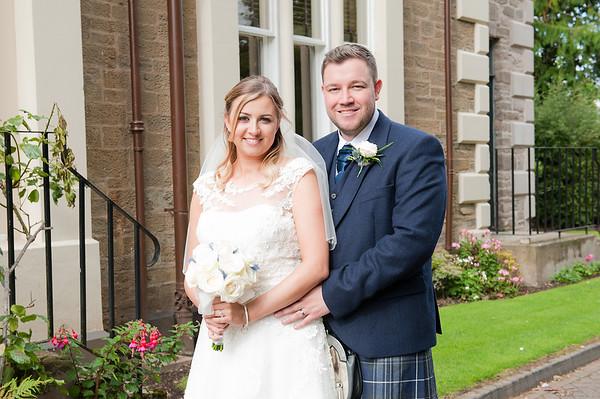 Sarah & David - Woodlands Hotel Dundee