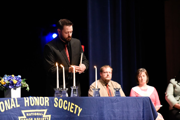 Eaton High School National Honor Society Induction Ceremony