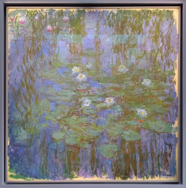 Claude Monet,  Blue Water Lilies