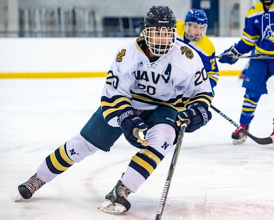 NAVY Hockey vs University of Delaware (10/19/2018)