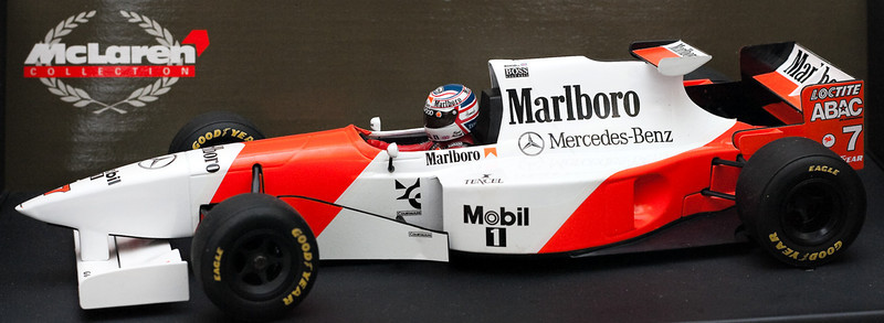 1995 #7 Mclaren Mercedes MP4/10 Nigel Mansell (Race Livery)