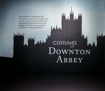 Downton Abbey Costumes - Winterthur - Aug 2014