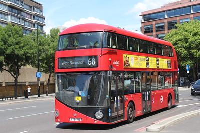 TFL Bus Fleet