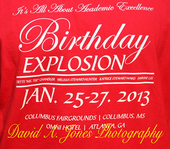 """The T.M.K.D. Birthday Explosion 2013 in the """"A""""."""