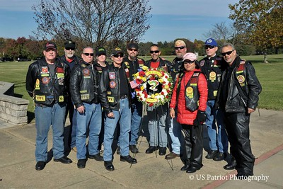 Veterans Day Activities, Nam Knights MC Fort McHenry, 11 NOV 16