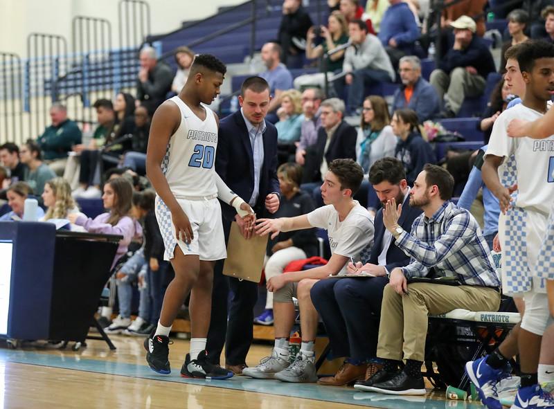 Yorktown Boys Basketball Senior Night (11 Feb 2020)