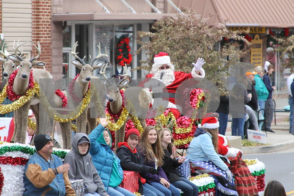 Erwin Christmas Parade - November 2016
