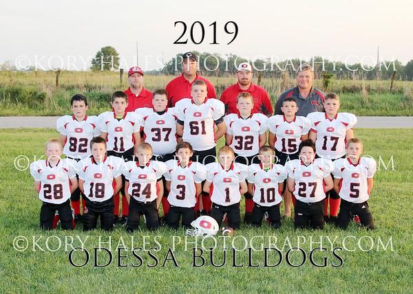 2019 Odessa Little League Football and Cheerleading