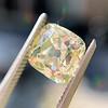 2.10ct Light Yellow Antique Peruzzi Cut Diamond, GIA W-X SI2 10
