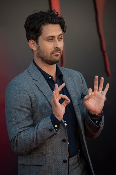 """WESTWOOD, CA - AUGUST 26: Andy bean attends the Premiere Of Warner Bros. Pictures' """"It Chapter Two"""" at Regency Village Theatre on Monday, August 26, 2019 in Westwood, California. (Photo by Tom Sorensen/Moovieboy Pictures)"""