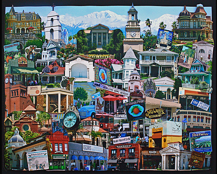 Collage of Redlands, CA