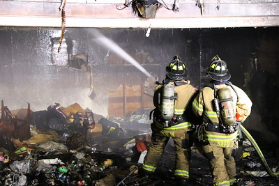 Garage Fire - 200 Ellwood Rd, Berlin, CT - 11/20/20