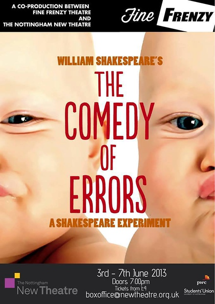 The Comedy of Errors - A Shakespeare Experiment poster