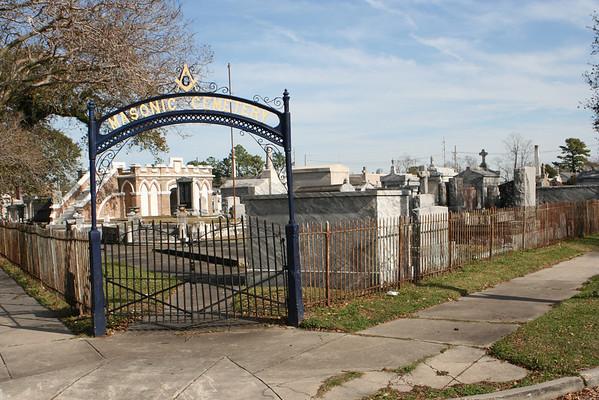 Masonic Cemetery - New Orleans, LA