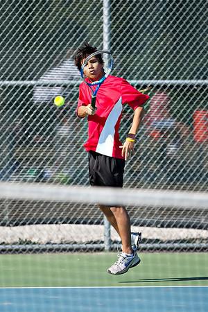 Boys Varsity Tennis vs Northridge