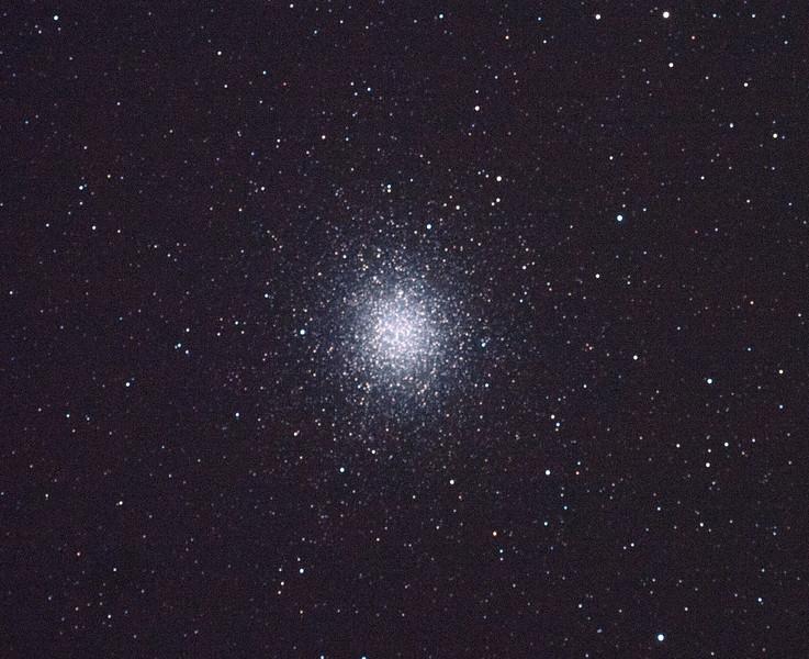 Caldwell 80 - NGC5139 - Omega Centauri Globular Cluster - 4/2/2011 (Processed single in-camera dark)