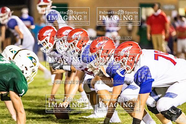 2020 Hammond Varsity Football vs Ben Lippen