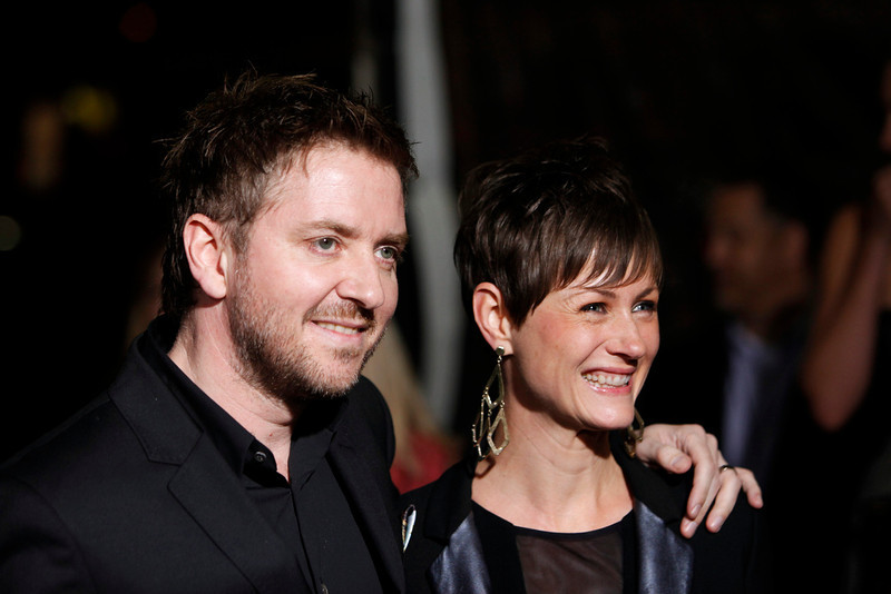 """. Composer Atli Orvarsson and Anna Orvarsson arrive at the premiere of the film \""""Hansel and Gretel: Witch Hunters\"""" at the Grauman\'s Chinese Theatre in Hollywood, California January 24, 2013.  REUTERS/Patrick Fallon"""