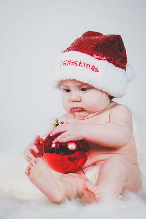 Olivia 1st Christmas