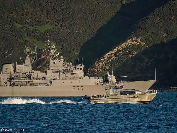 International Naval Vessels in Wellington 2016