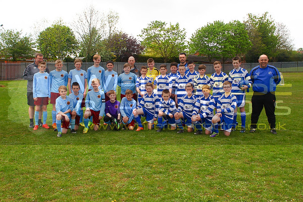 Staincross Rangers under 12's v North Gawber under 12's Cup Final 10 - 05 - 15