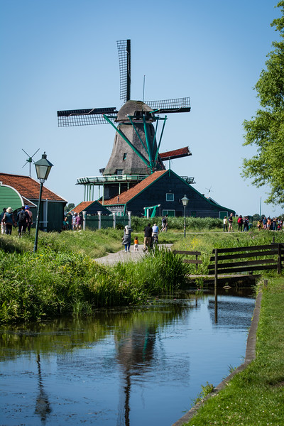 Day 14 - Zaanse Schans with Osma & Rob, July 17th