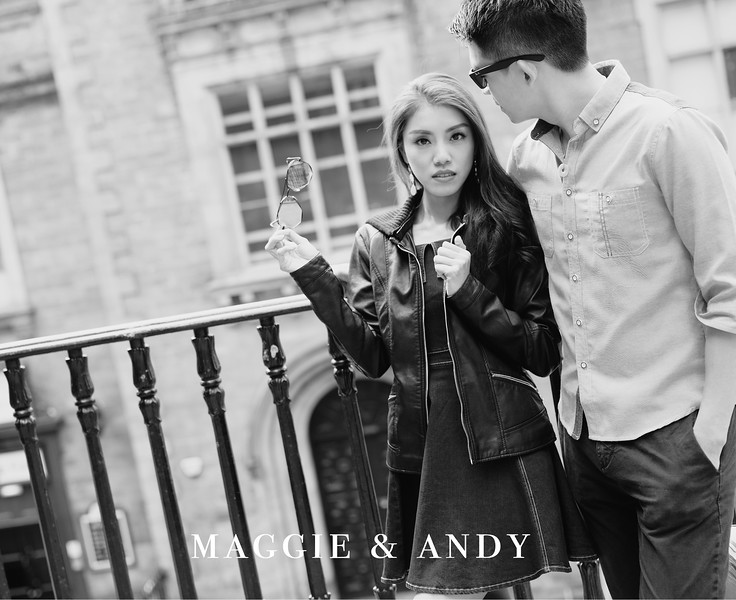 Overseas Pre-Wedding - Maggie and Andy - Edinburgh