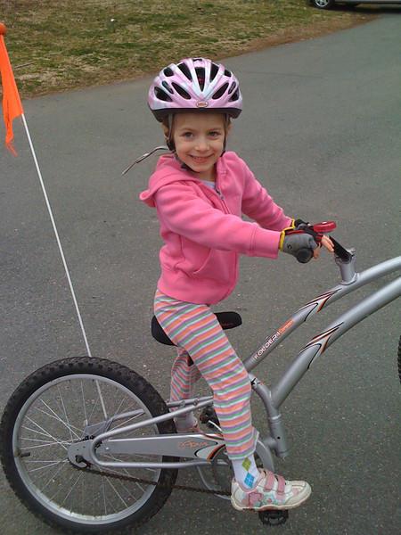 Sammy's first ride in Virginia