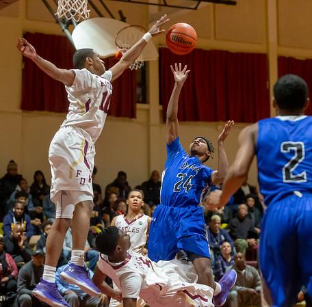 Boys basketball: Lackey vs. Douglass
