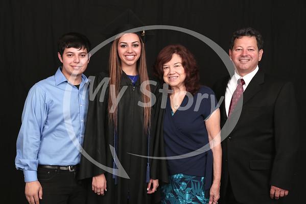 Photos in the Foyer 2015 Antonian Graduation