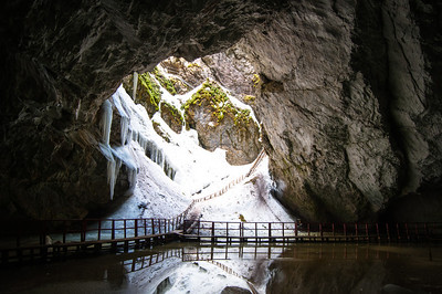 Scărișoara Ice Cave, Apuseni Mountains, Romania