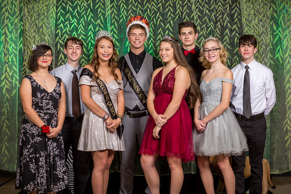 Entiat Homecoming Royalty and Class 11.2.2019